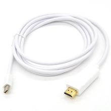 Mini DP DisplayPort (Thunderbolt) to HDMI Male to Male Converter Adapter Cable for MacBook Pro/Air – 1.8m/6ft