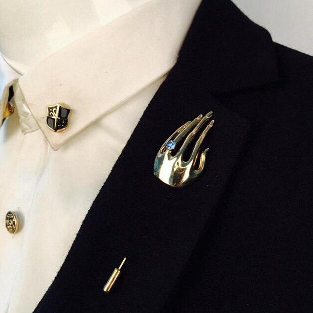 Модные хрустальные руки для мужчин колье Брошь Шпилька костюм шпильки с отворотом шпильки s интимные Аксессуары свадебные Брошь рубашк