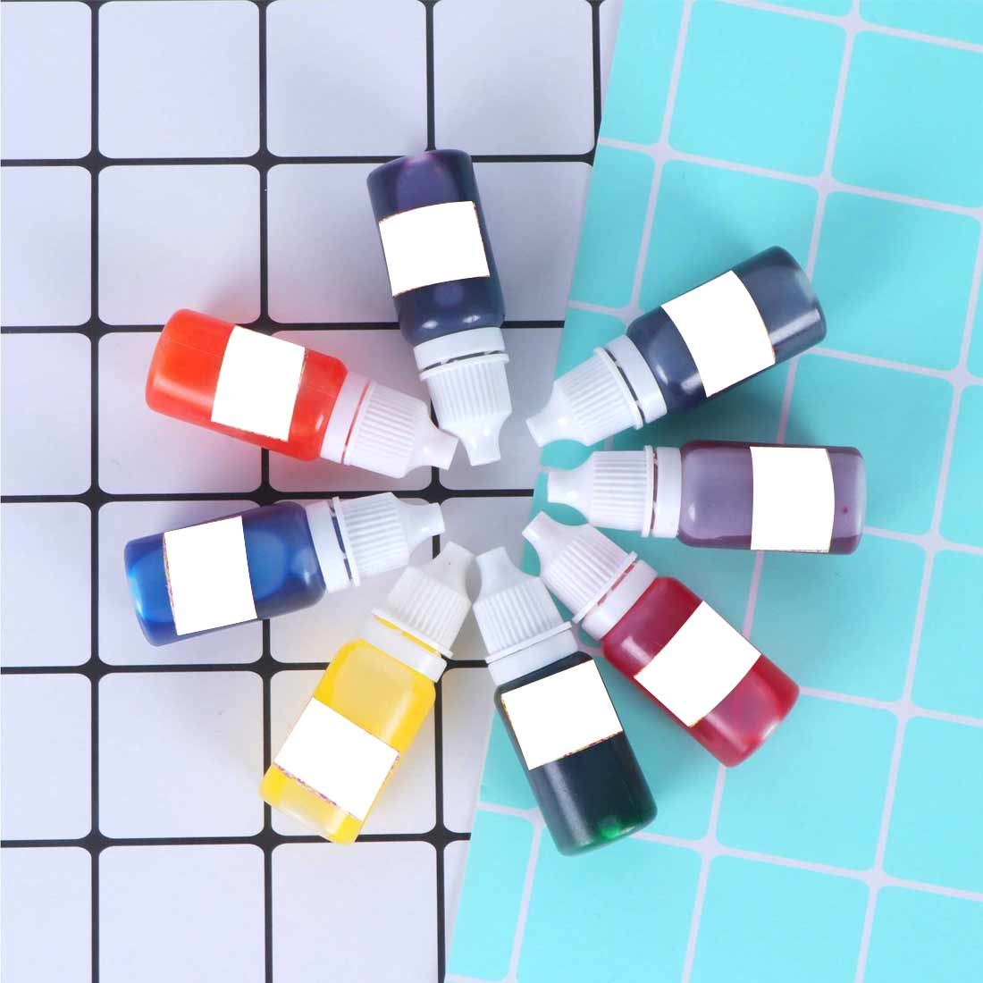 High Concentration  Pigment DIY Jewelry Making Crafts For Drop ShipUV Resin Liquid Pearl Color Dye Pigment Epoxy