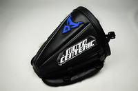 Sport Touring Expandable Motorcycle Seat Tail Storage Bag Pack Bags Black Blue