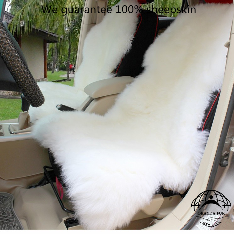 Online Buy Wholesale Sheepskin Car Seat Cushion From China