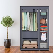 DIY Assembled Non woven Fabric Wardrobe Multilayer Dustproof Clothing Shoes Storage Closet Bedroom Quilt Sundries Organizer Rack