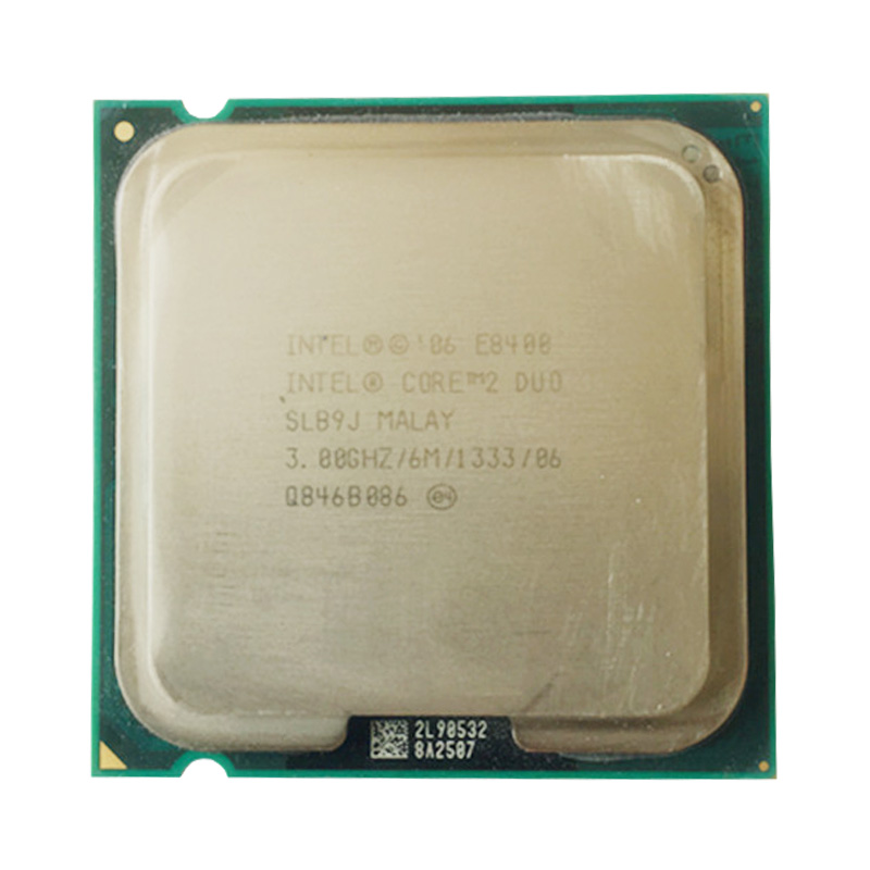 INTEL CORE 2 E8400 LAG 775 SOCKET 3.0GHz /65W /6M /FSB 1333 DESKTOP CPU DUAL CORE Processor