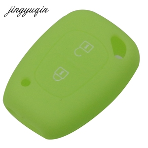 Image 5 - Jingyuqin סיליקון רכב מפתח Fob כיסוי מקרה עבור רנו Vivaro Movano התנועה מאסטר Kangoo עבור ניסן אופל