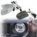 Для Jeep Renegade 2014-2017 стороны отражения Предупреждение сигнала поворота светильник Поворотники передние бортовой светильник и крышка
