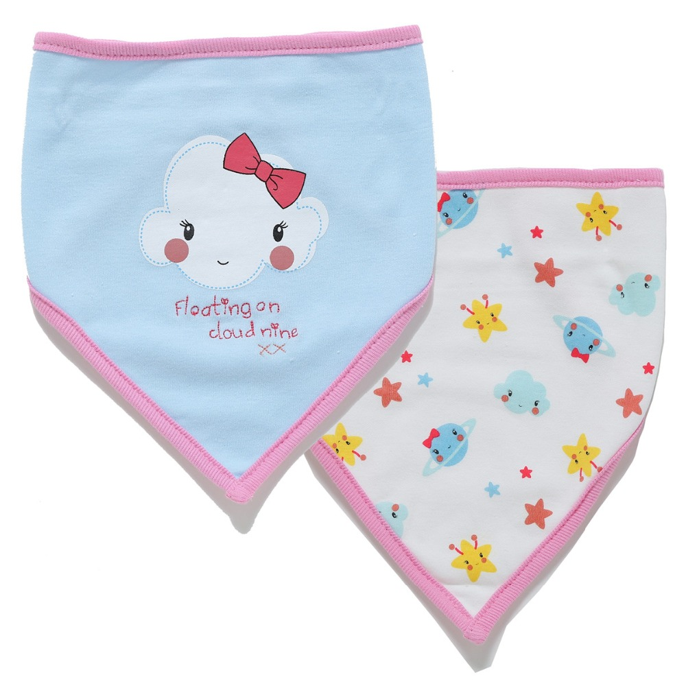 Boys' Baby Clothing Realistic Newborn Baby Bibs 0-18 Month Cotton 2pcs/set Newborn Absorption Saliva Towel Soft Bib For Boy Girl Babies Feeding Accessories Easy And Simple To Handle