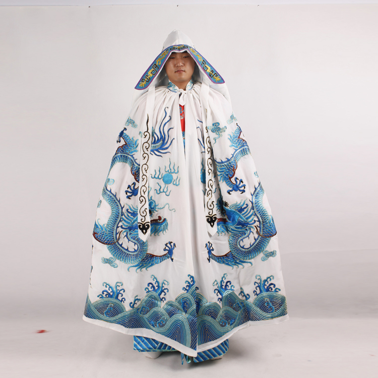 Hot Sale China operas costume Carnival Chinese Beijing Opera Drama Cloak Embroidery Dragon Dramaturgic emperor 39 s mantle Costume in Sets from Novelty amp Special Use