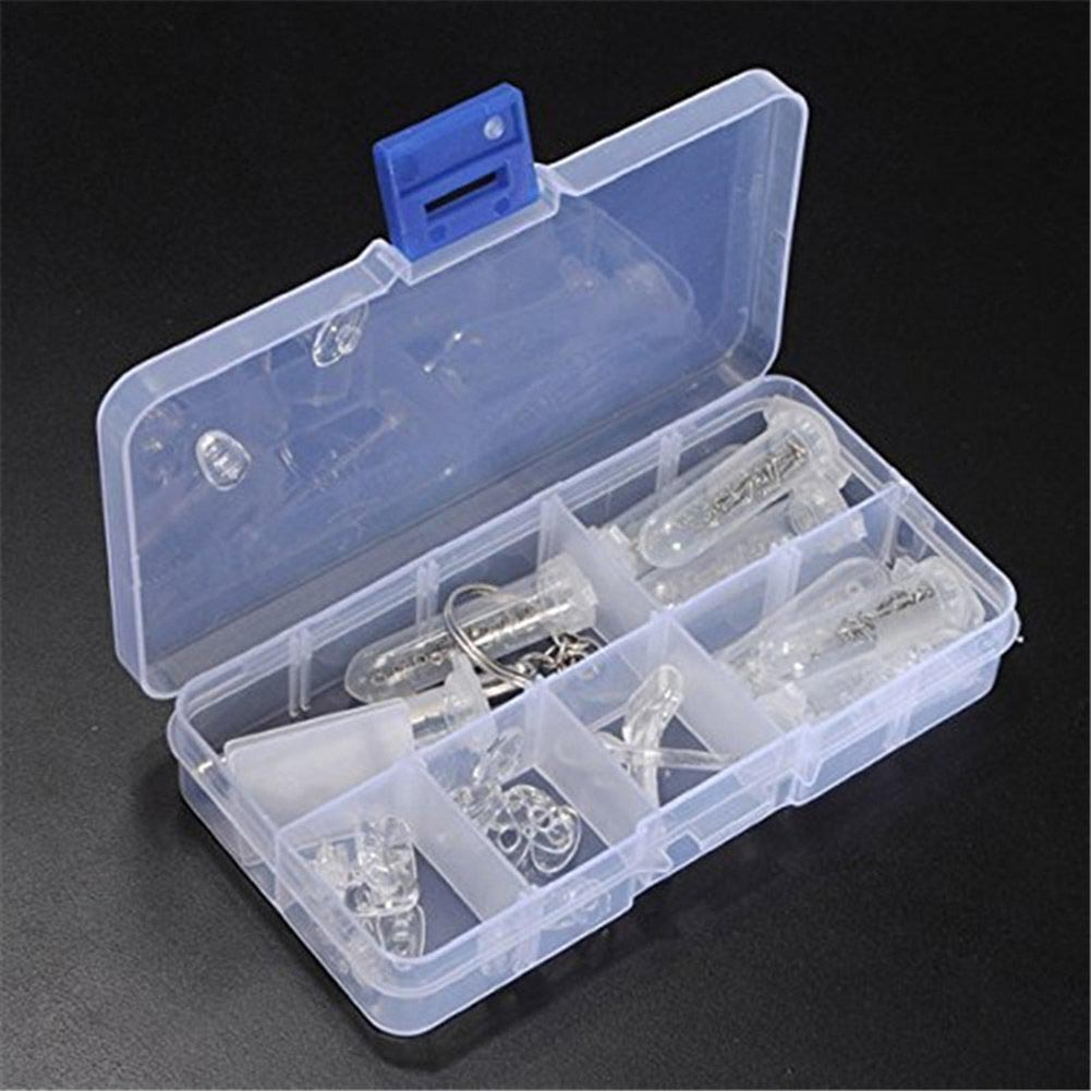 Brand New Glasses Optical Repair Tool Assortment Kit Screw Nut Nose Pad Set Durable Eyeglass Assortment Kit Set