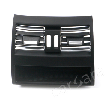 Rear row air vent outlet grill panel for BMW 5 Series F10 F18 high end with chrome plate without electro-thermal switch