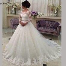 Sophoeniya long sleeve wedding dress 2019 wedding dresses