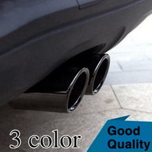 Case for Audi Q5 A3 A4 B8 Sedan 2.0 2009 2010 2011 2012 2013 2014 UP Exhaust Pipe Car Covers Car Silencer Styling Tail pipes