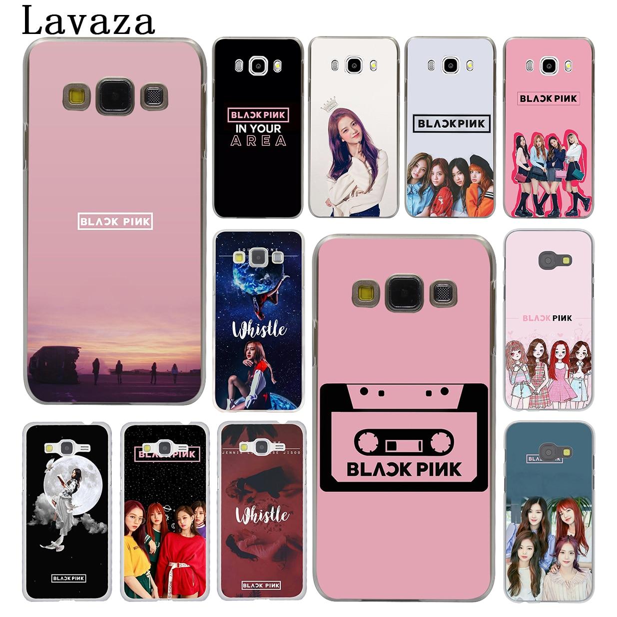 Lavaza BLACKPINK BLACK PINK JISOO Hard Phone Shell Case for Samsung Galaxy J7 J1 J2 J3 J5 2015 2016 2017 Prime Pro Ace 2018 Cove