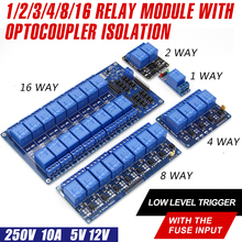 WAVGAT 5V 12V 1 2 4 6 8 channel relay module with optocoupler. Relay Output 1 2 4 6 8 way relay module for arduino In stock велосипедные тормоза magura 2 4 6 8 sh857s