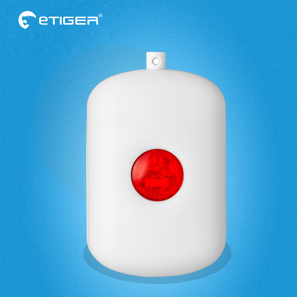 Etiger Wireless SOS Emergency button Alarm Home Burglar Alarm Panic button Alarm Sensor for S4 S3B Alarm System chuango sos 100 wireless panic button works the g5 b11 a11 alarm system