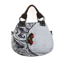 New Fashion Appliques Women Shopping Multi Use Bags Hot All Match Floral Appliques Shoulder Handbags Top
