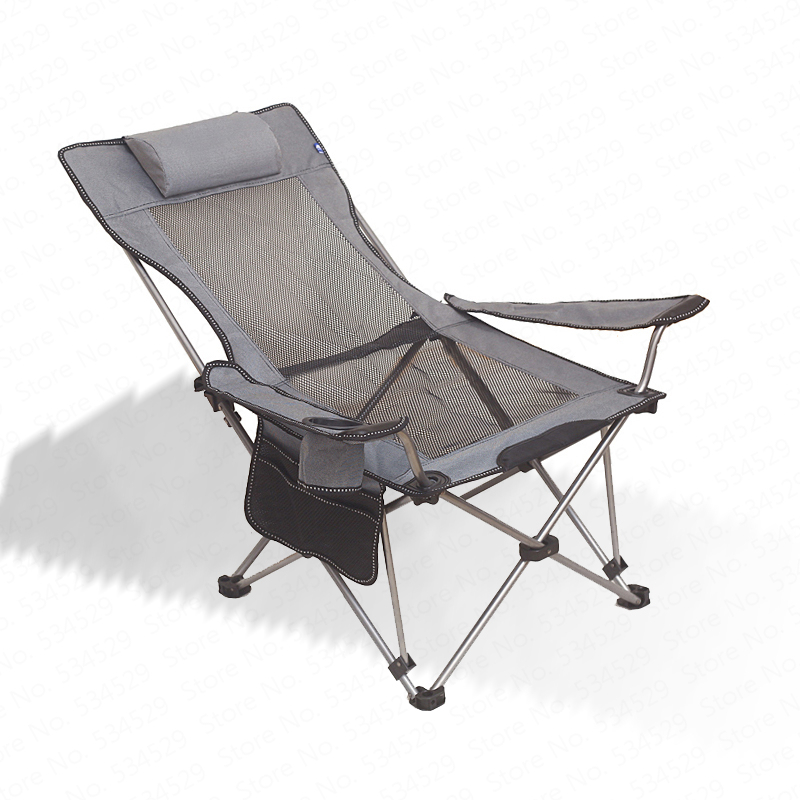 Lounge Folding Fishing Chair With Carry Bag & Cup Holder, Folding Camping Chair For Fishing Sports,outdoor, Beach,Picnic,Hiking