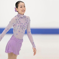 Hot Sales Ice Figure Skating Dresses Fashion New Brand Competition Child Figure Skating Dress Crystal DR3691
