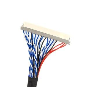Image 4 - DF19 D8 30P lvds cabo especial 30 pinos duplo 2ch 8bit 1.0mm passo para 17 e 19 polegada lcd painel de exibição LTM170EX L21 250mm