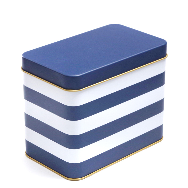 17*10.3*13.5cm Blue White Stripes Metal Tin Boxes Biscuit Cookies Snack Navy  Storage Box Big In Storage Boxes U0026 Bins From Home U0026 Garden On  Aliexpress.com ...