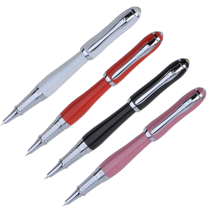 Hot Sale Duke 0.38mm Fine Fountain Pen Several Color Available Finance Writing Ink Pens Stationery with A Gift Box Free Shipping цена