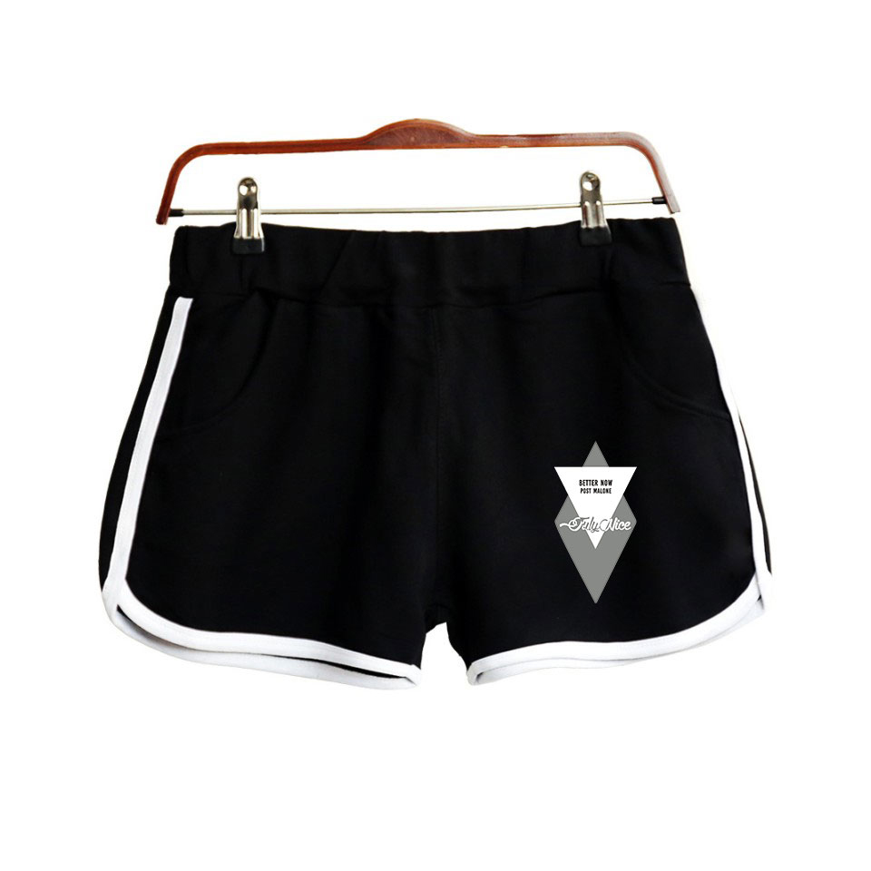 Post Malone Print Popular Hip Hop Summer Shorts Fashion Hipster Shorts Casual High Street Hipster Basic Summer Shorts Moletom
