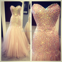 XGGandXRR G615 Sparkly Sweetheart fully Prom Dresses 2018