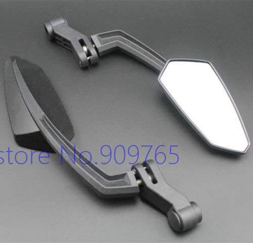Custom Side Rearview Mirrors For Honda Yamaha Suzuki Kawasaki Harley Ducati BMW Chopper Street Sport Bike ATV Motorcycle