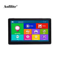 Anfilite 7 pulgadas 800*480 DDR 256M ROM 8GB GPS navegación Bluetooth AVIN MSB2531 brazo Cortex-A7 800MHZ Windows CE 6,0 navigator