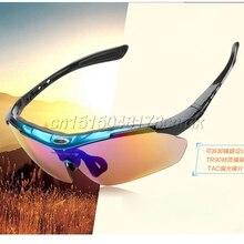 Новые съемные поляризованные солнцезащитные очки со сменными линзами, спортивные очки для рыбалки, очки для рыбалки с очень бесплатной 4 линзами