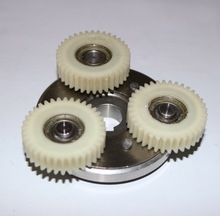 Gear outer diameter:38mm thickness:10mm 36 tooth motor gear assembly -Clutch+3pcs gear цена