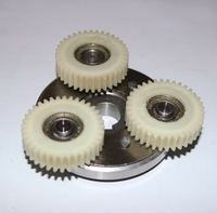 1Set Gear Diameter:38mm Thickness:10mm 36Teeth Motor Gear Assembly Clutch+3Pieces gear
