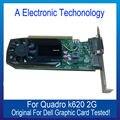 100% Original Placa Gráfica Para DELL K620 2 GB Exibição Placa de Vídeo GPU NVIDIA Quadro Substituição Testado Trabalho