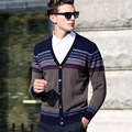 Spring And Autumn Man Knitting Cardigan V-neck Sweater Long Sleeve Sweater
