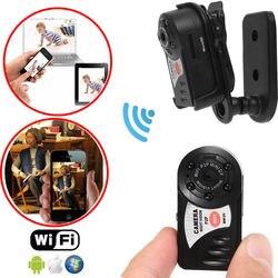 Karta o pojemności 16 GB + Mini Q7 kamery 720 P Wifi DV bezprzewodowa kamera rejestrator noktowizor na podczerwień