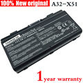 4400 mah bateria do laptop original para asus x51 a32-t12 a32-x51 xt12 t12j x51h x51l x51r x51rl x58 x58c