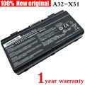 4400 mah t12j xt12 a32-t12 a32-x51 batería original del ordenador portátil para asus x51 x51h x51l x51r x51rl x58 x58c