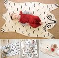 Fashion New baby Blanket Game Mat, Bear Blanket Baby Tiger Blanket Animal Carpet,Warm Bear Play Mats Autumn Winter