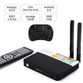 Completo Cargado KDOI CSA93 Android 6.0 TV Box 2 GB 16 GB Amlogic S912 Octa Core Streaming Reproductor Multimedia Inteligente Wifi BT4.0 4 K TV cajas