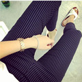 2016 Fashion Striped Printed Maternity Skinny Pants Spring Autumn Casual Pencil Trousers Clothes for Pregnant Women 3671