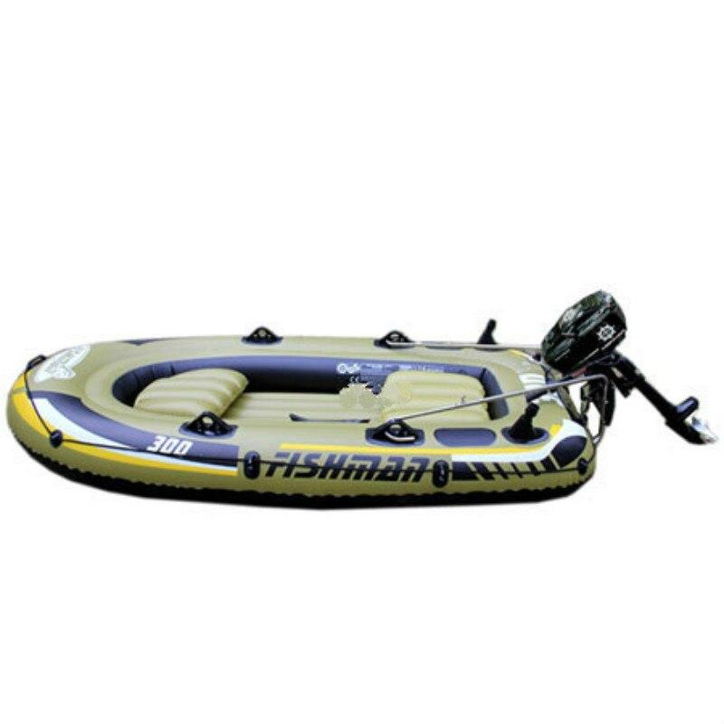 Bateau gonflable récréatif avec bateau en caoutchouc moteur bateau de pêche et Kayak portant l'aviron 3 personnes