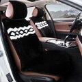 Универсальные чехлы для сидений автомобилей стайлинга автомобилей автомобиля подушки сиденья аксессуары для автомобиля искусственный мех крышка сиденье nexia Camry cruze ceed