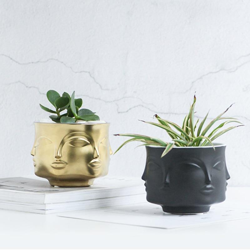 Man Face flower vase…