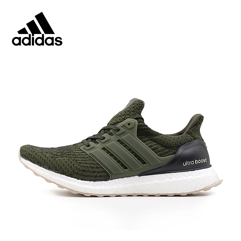 2018 New Arrival Original Adidas Ultra Boost Men's Running Shoes Sneakers Outdoor Tennis Shoes Classical Breathable Athletic