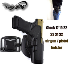 Tactical Glock 17 19 22 23 31 32 Air Gun / Pistol Holster Shell Accessories Right Hand Version