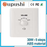 Oupushi Wall Mount Speaker Volume Control 30W Creative Speaker Volume Control
