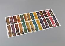 تصميم العملاء لنينتندو Gameboy مقدما التسمية ملصقا التسمية ل GBA وحدة التحكم العودة العلامة 28 قطعة/الوحدة = 1 مجموعات