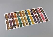 Заказчик для Nintendo Gameboy Advance Label Sticker Label для консоли GBA Back Tag 28 шт./лот = 1 комплект
