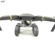 3D baskı Iniş takımı Yükseltilmiş Genişletilmiş bacak Güvenli Braketi Kamera gimbal koruma DJI Mavic Pro Drone Aksesuarları için