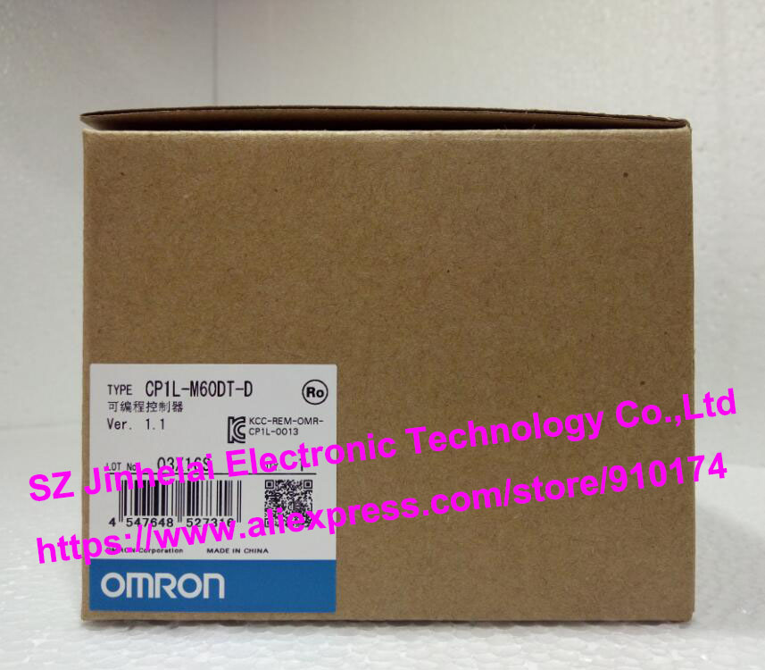 100% New and original  CP1L-M60DT-D  OMRON PLC CONTROLLER [zob] 100% new original omron omron proximity switch e2e x10d1 n 2m