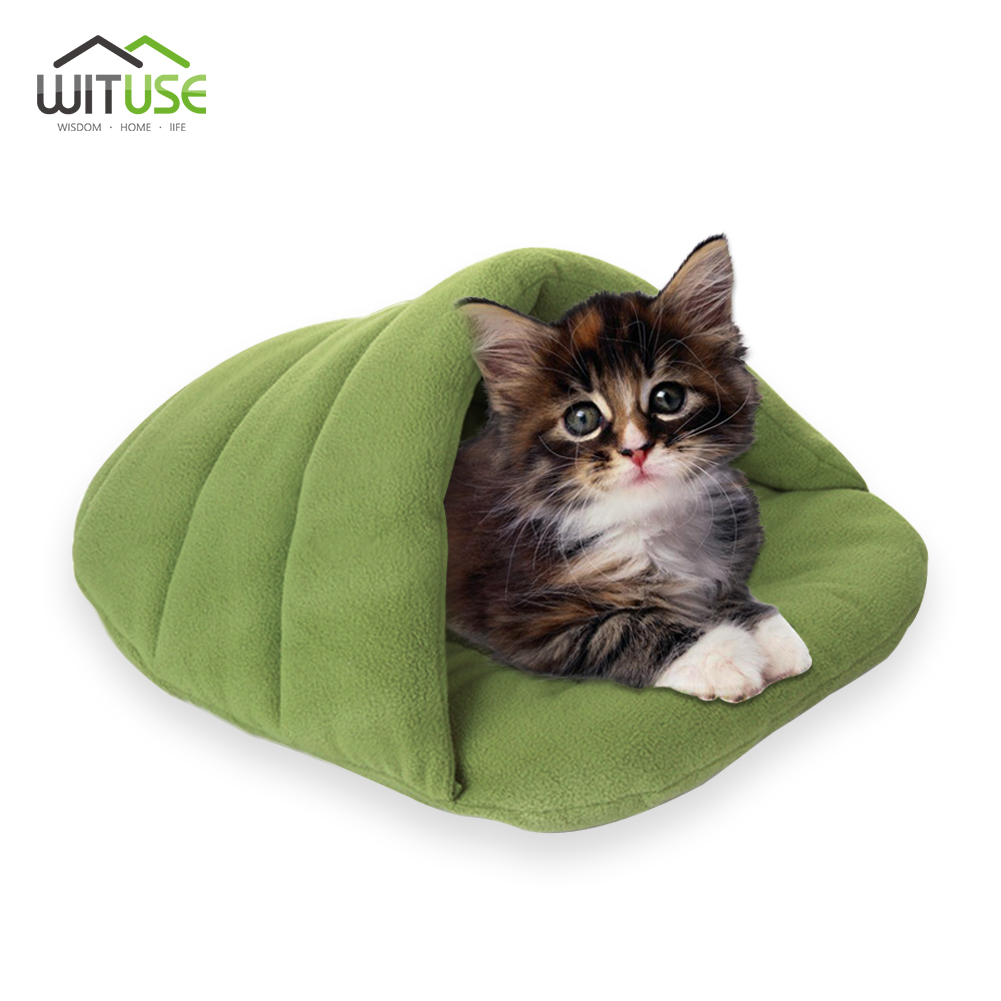 Lovely Bamboo Fleece Pet Bedding Dogs House Cushion Kennel Nest Indoor For Dogs And Cats ...